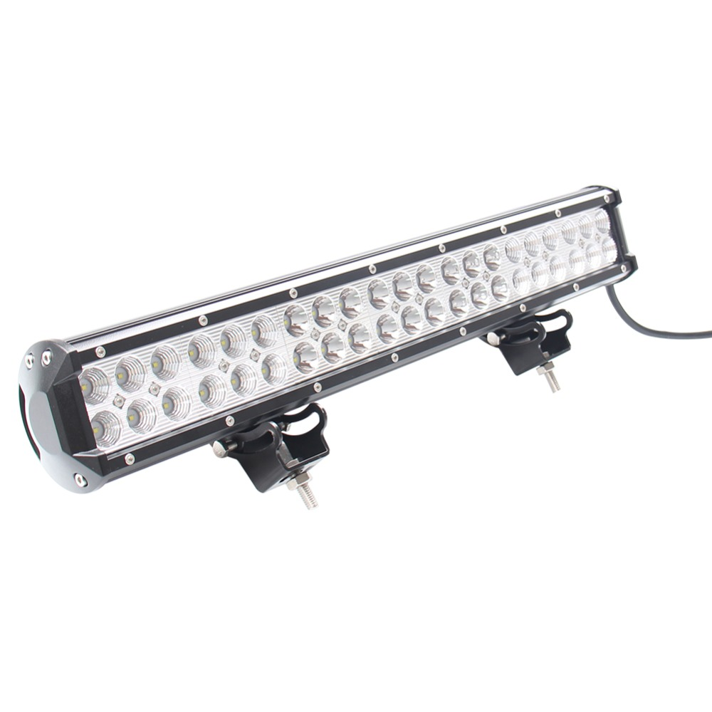 20 Inch 126W LED Work Light Bar Alloy Spot Flood Combo Diving Offroad 4WD Boat<br><br>Aliexpress