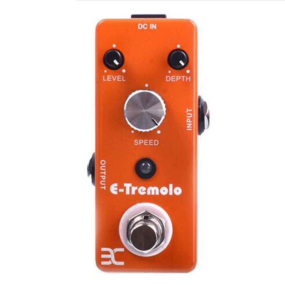 ENO  E-Tremolo Single Electric Guitar Effect Pedal TC-43 True Bypass Guitarra Acessorios<br>