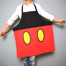 55*59cm/74*71CM 100% cotton cartoon mickey mouse apron kids sleeveless aprons adults kitchen baking apron canvas chef gown
