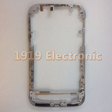 Original Metal Middle Frame Bezel Plate With Side Button Flex  For BB  BlackBerry Classic Q20 Housing + Tracking