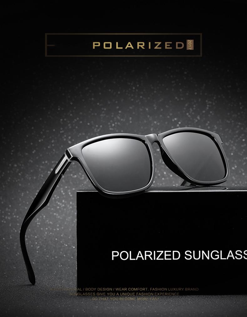 Großhandel 2018 Polarisierte Tom Sonnenbrille Für Männer Fahren Hohe ...