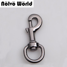 Gun finished snap hook 20mm(3/4 inch inside) high quality metal zinc die casting hardware for bags hooks,drop shipping