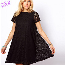 Summer Pregnant Clothes Maternity Clothing Women Maternity Dress Casual Knitted Lace Clothes For Pregnant Women Mini Lace Dress