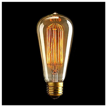 CNIM Hot Vintage Cage Antique Style Industrial Filament Lights Bulb Lamp 40W
