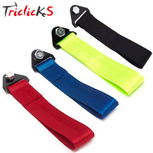 Triclicks Universal Front Rear Racing Car Towing Strap Bumper Hook Up To 10000LBS New Tow Ropes Towing Bars Black Navy Green Red