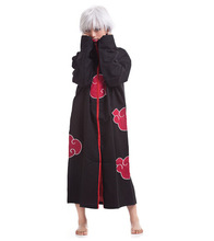 Cos Cosplay naruto Akatsuki Orochimaru uchiha madara Sasuke itachi Pein Clothes Costume cloak cape wind Dust Coat E37144(China)