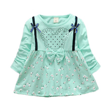 Startist Baby Girl Dress Spring Baby Dress For Infants Casual Cartoon Full Legnth Baby Dresses Grils Clothes Vestido Infantil