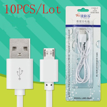 (BH116210AM)(10PCS/Lot by AM)100% High Quality Universal 1M Micro USB Charger Data Sync Cable for Samsung etc Android Phone