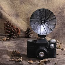 Retro Resin Ornaments Decorations Vintage Clothing Store Camera Bar Home Decoration Accessories