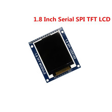 Smart Electronics 1.8 Inch 128*160 Serial SPI TFT LCD Module Display + PCB Adapter Power IC SD Socket for arduino 1.8'' 128x160