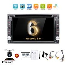 6.2 inch 2 Din Android Car Dvd Player Audio Stereo For Universal Gps Navigation Steering-Wheel 2Din Radio Recorder Wifi Map Cam