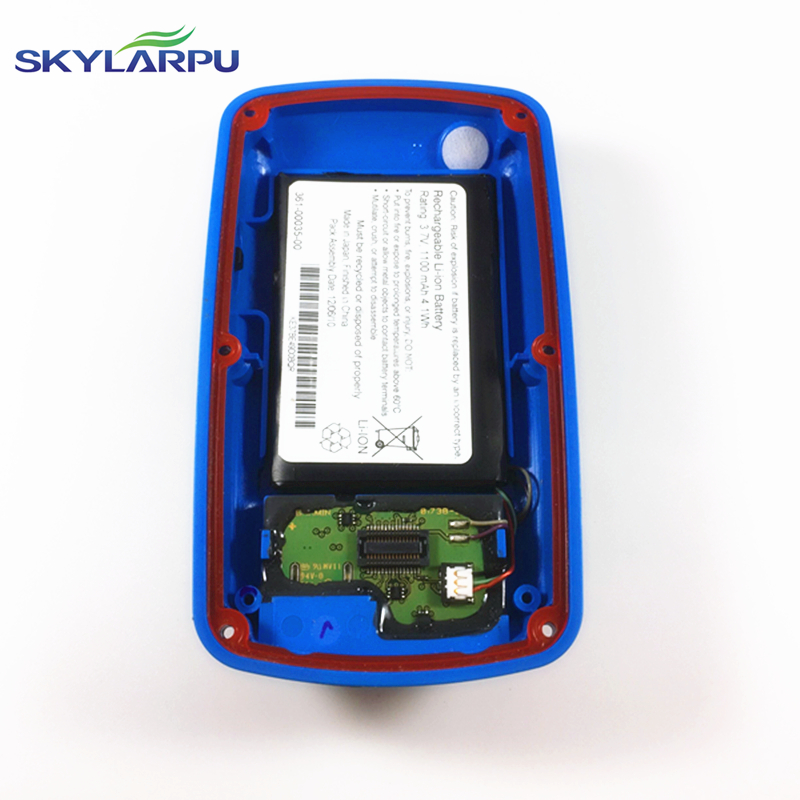skylarpu (Blue)rear cover for GARMIN EDGE 800 bicycle speed meter back cover With Battery Repair replacement Free shipping<br>