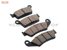 4 PCS Motorcycle Front Rear Brake Pads Case for KAWASAKI KX125 KX KDX 250 KLX300 KX500 1996 1997 1998 1999 2000 2001 2002 2003