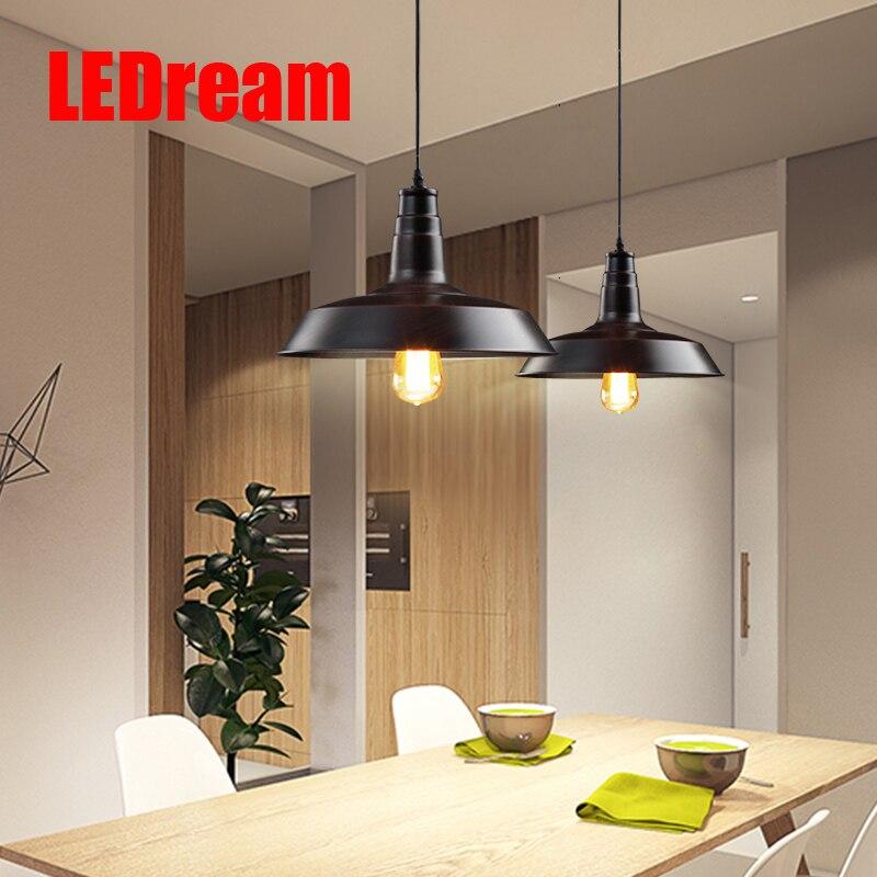 LOFT Pendant Lights  Pendant Lamp Retro Hanging Lamp Lampshade For Restaurant /Bar/Coffee Shop Home Lighting home decoration<br>
