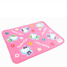 Kawaii Cartoon Hello Kitty Soft Blanket Casual Small Blanket Pillow Towel 50*40CM Snoopie Christmas Gifts