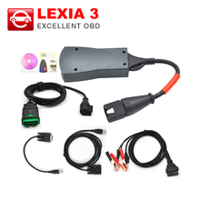 2017 Lexia3 Diagnostic Tool Lexia 3 V48 PP2000 For Citroen for Peugeot With New Diagbox V7.65 LEXIA-3
