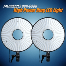 FalconEyes Led Super Power Dimmable LED Ring Light Video Studio Light w/ 630pcs LEDs for Canon Nikon Sony  DSLR Cameras