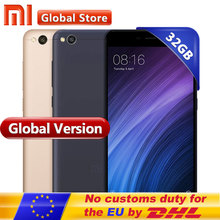 "Original Global Version Xiaomi Redmi 4A 2GB 32GB smartphone telephone Snapdragon 425 Quad Core CPU 5.0"" 13.0MP(China)"
