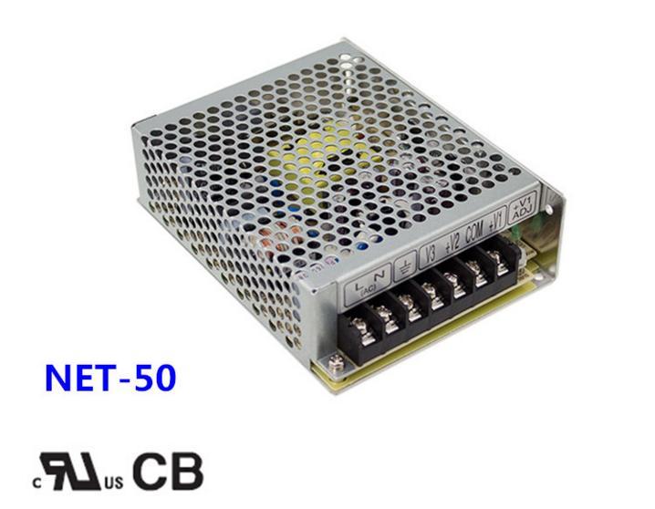 Free shipping 1pc  NET-50B 50w 5v  4A Triple Output Switch Power<br>