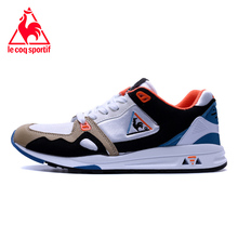 2017 Latest Version Le Coq Sportif Men's Running Shoes Sneakers New Colors Athletic Footwear Wht/Black/Orange Color 3 Size 40-44(China)