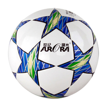 soccer ball size 5 PU leather football competition training professional football Seamless Paste for soccer Free ship C35