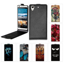 Luxury Lichee Pattern Flip Leather Case For HTC 626 G Cartoon Flip case For HTC Desire 626 G 626g 626G+ 626s 628 628g dual sim