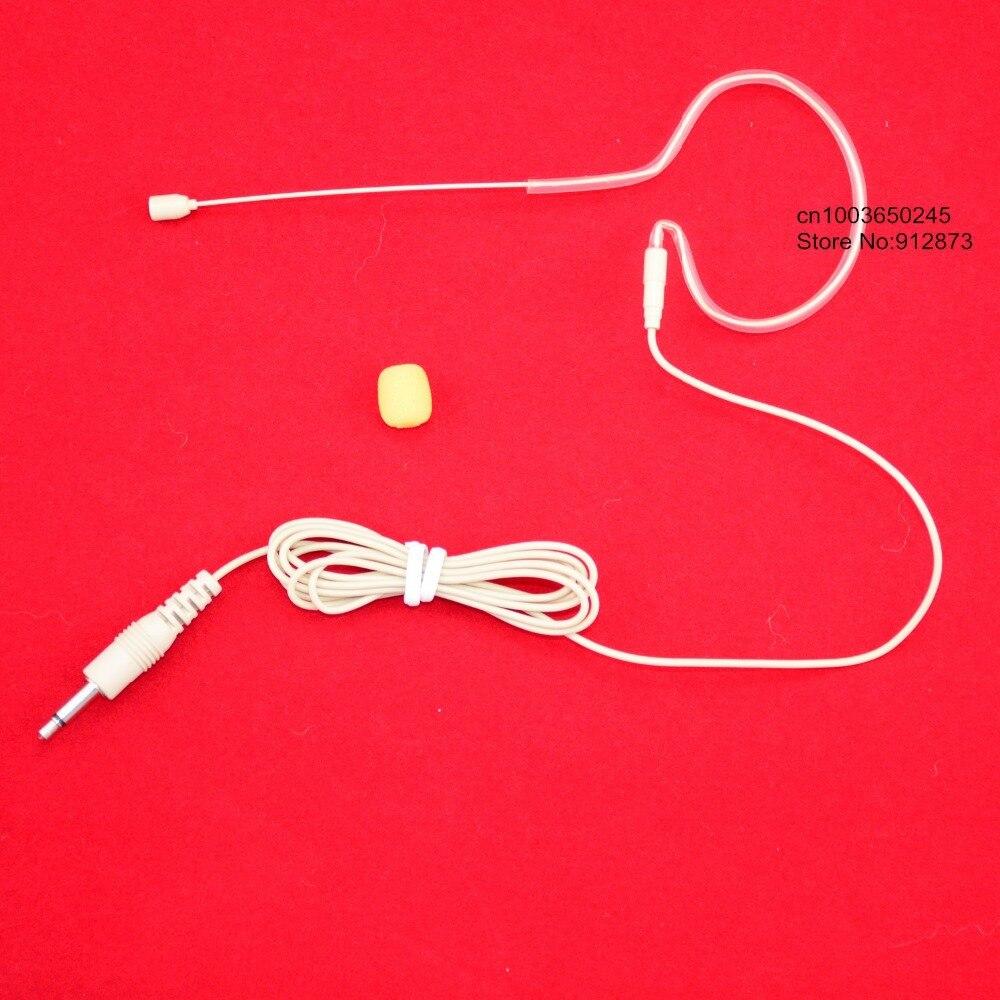 canto con baile Profesional vocal micr/ófono de condensador con cable mini micr/ófono de 3.5 mm para altavoz amplificador de voz auriculares de diadema para el escenario espect/áculo ense/ñanza
