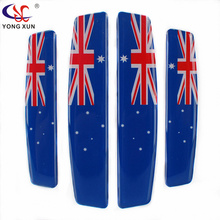 Car styling car door stickers Australia flag sticker emblem decal fit for mercedes bmw audi vw mazda ford opel kia accessories