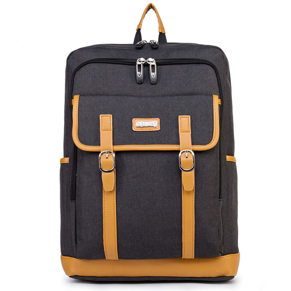NEW Men Laptop Backpack Travel Casual Waterproof Canvas Shoulder Bag College Student Multifunction Business Notebook Rucksack<br>