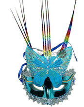 Wholesale Price 10 pc/lot Special mask masquerade mask feather mask new plastic rain would Butterfly Mask 40135