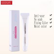 goochie Permanent makeup lip repair gel, post eyebrow operation repair agent, post tattoo repair gel 10g/ tube,(China)