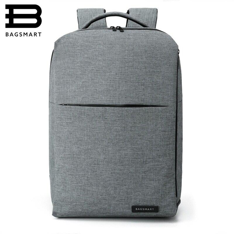 BAGSMART New Laptop Backpack Multifunction Rucksack 15.6 Inch Laptop Backpack for Women Men Backpack School Bag for Male Mochila<br>