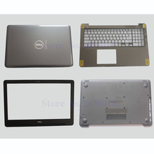 NEW Original laptop LCD back cover for DELL inspiron 15-5000 5565 5567 Bottom case Bezel cover Palmrest Upper