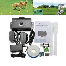 2015 Newest US Plug Waterproof Ground Electronic Wireless Fence Containment System Dog Pet