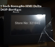 DOP-B07S411 Delta HMI Touch Screen 7 inch 800*480 1 USB Host new in box with program Cable(China)