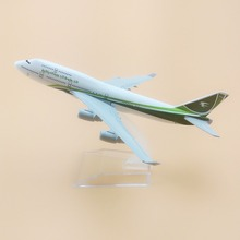 NEW 16cm AIR Iraqi Airways Boeing 747 B747 400 Model Airlines Plane Model Aircraft Airplane Model w Stand Gift(China)