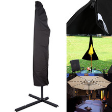Outdoor Patio Umbrella Beach Cover Bag Fit 6ft To 11ft Protective Canopy Zipper New U70523 DROP SHIP(China)