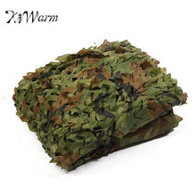 KiWarm 3x5m Desert Digital Camo Net Military Camouflage Netting Mesh Games Camouflage Net Hunting Camping Hide Garden Cover(China)