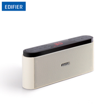 Edifier MP19 Mini Portable Speakers With FM Radio LED display Speaker MP3 Player with Neodymium speaker drivers huge buttons(China)