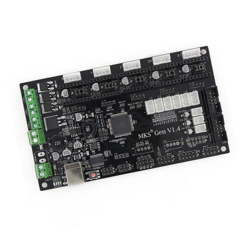 New Control Motherboard MKS Gen V1.4 Compatible RAMPS 1.4 3D Printer Controls Board ALI88<br>