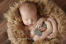 85cmx90cmBack Drop Faux Flokati Fur, 8cm Long Pile Faux Fur Blanket, Newborn Photo Prop, Blanket of photography,Baby photography