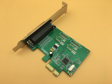 PCIE Parallel Card WCH382L Chipset Industrial Native Parallel Port LPT pci-e to DB25 Printer Interface Expansion Card