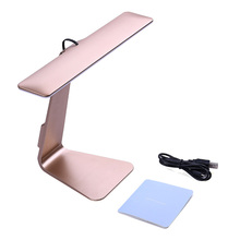 New fashion Eye-Protection Portable Desk Lamp Ultra-thin with 28 LED,3 Level Table Lamp of Brightness Night Light Mac Style(China)