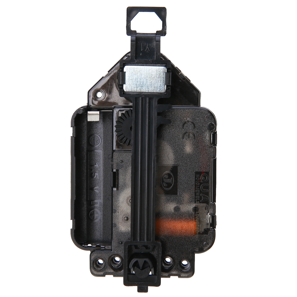 Replacement Quartz alarm clock movement 14mm threadless shaft DIY