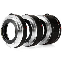 Viltrox Lens Adapter DG - C 12MM 20MM 36MM AF Auto Focus Metal Mount Macro Extension Tube Set for Canon EOS Series Camera(China)
