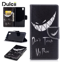 Buy DULCII Sony Xperia L1 G3311 G3312 Cases Pattern Printing Magnetic Leather Wallet Case Stand Sony Xperia L 1 Cover for $3.74 in AliExpress store