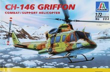 CH-146 Griffon Combat/Support Helicopter Italeri 084 1/72 New Model Kit(China)