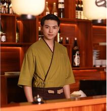 Hot Sale Japanese chef uniform Restaurant&Hotel uniform Sushi shop Japanese kimono men