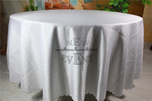 New Design For 2016 White Color Clouds Jacquard Tablecloth/Table Linen For Wedding Party Home Decorations/Wedding Supplies(China)