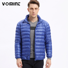 2017 Brand New Free Shipping Men Down Coat Jacket Ultralight Down Fruits Color Fashion Down Coat Men M-5XL S6AK007(China)